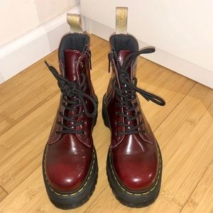 Dr. Martens Cherry Jadon Boots UK 3 / US 5/6